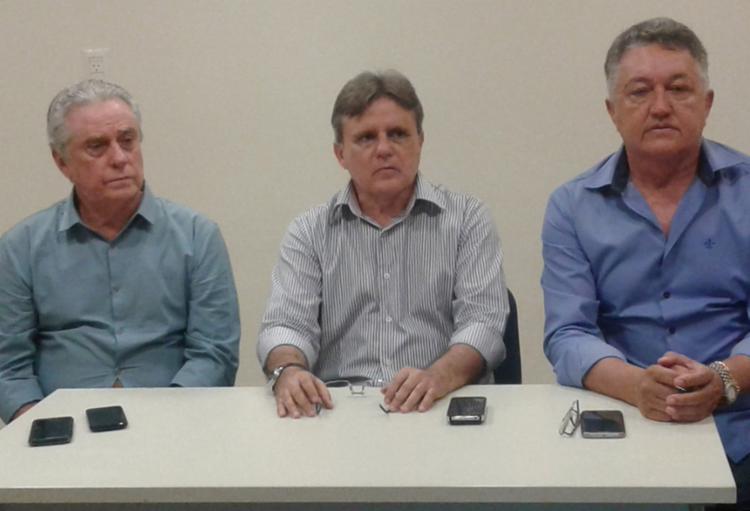 Godinho (E) e Abreu (D) são os candidatos da chapa de situação - Foto: Ricardo Palmeira l Ag. A TARDE
