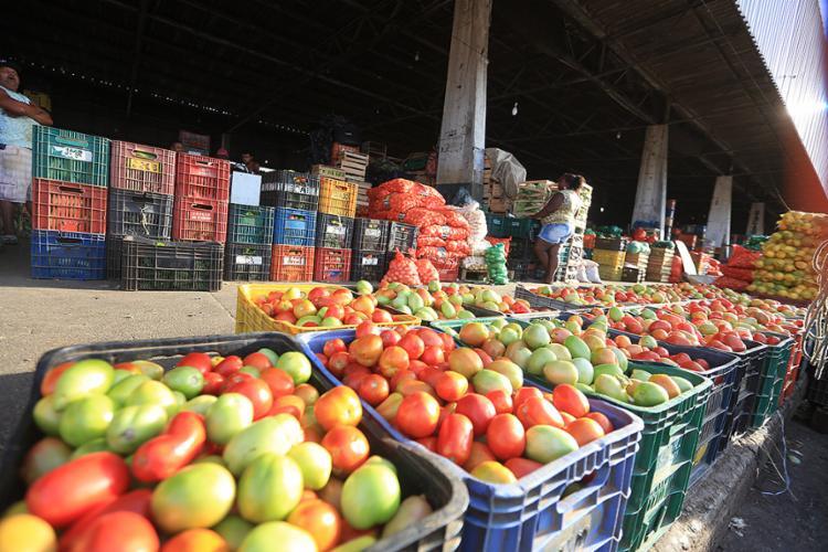 O tomate ficou quase 4% mais barato em outubro - Foto: Joá Souza l Ag. A TARDE