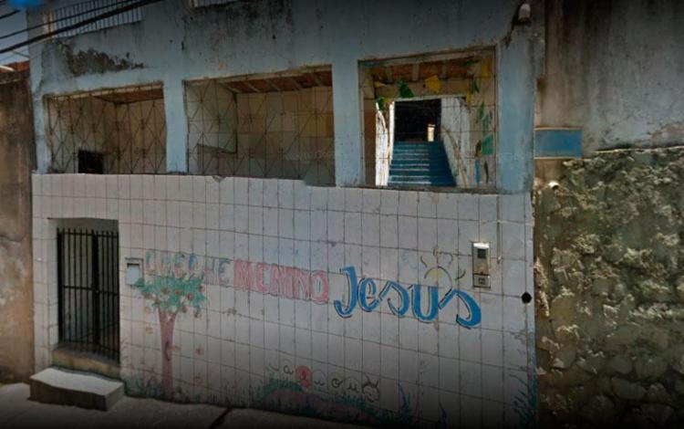 Crime aconteceu dentro da creche onde a vítima trabalhava - Foto: Reprodução | Google Maps