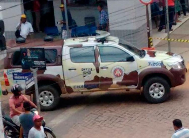 Policiais militares participaram da ação que ajudou a libertar vítimas - Foto: Cidadão Repórter | Via Whatsapp
