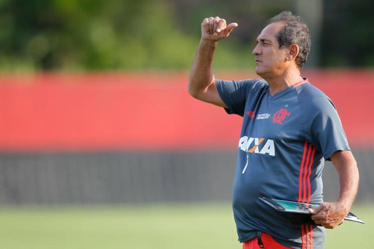 O último trabalho de Muricy como treinador foi com o Flamengo - Foto: Gilvan de Souza | Flamengo
