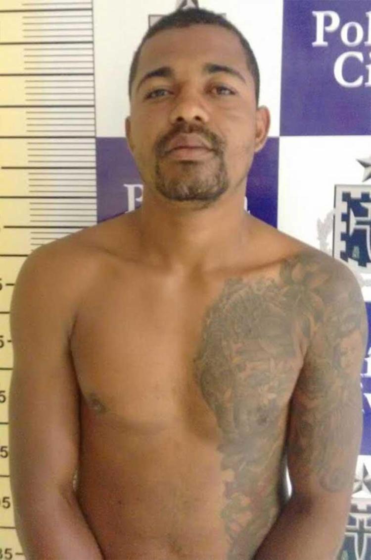 Emerson estava foragido desde janeiro deste ano - Foto: Polícia Civil | Divulgação