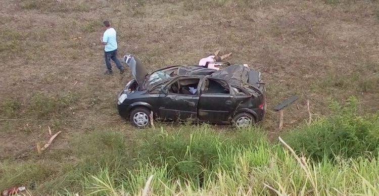 O cabo Cleriston Pendine não resistiu aos ferimentos e morreu no local do acidente - Foto: Reprodução | Entre Rios Noticias
