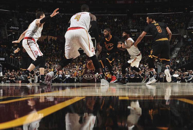 Os Hawks encerraram a invencibilidade dos Cavaliers - Foto: Reprodução   Facebook   Cavaliers