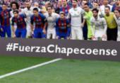 Chapecoense é homenageada em jogos pelo mundo | Foto:
