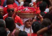 Festa de Santa Bárbara reúne multidão no pelourinho | Foto: