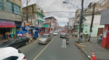 O acidente aconteceu no inicio desta manhã na Estrada da Liberdade - Foto: Reprodução | Google Maps