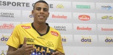 O atacante teve boa passagem pelo Criciúma, onde se destacou na Série B de 2016 - Foto: Fernando Ribeiro l Site oficial do Criciúma