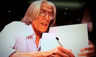 O escritor, poeta e teatrólogo morreu no Hospital Copa D'Or na Zona Sul do Rio. A causa da morte ainda não foi divulgada - Foto: Reprodução