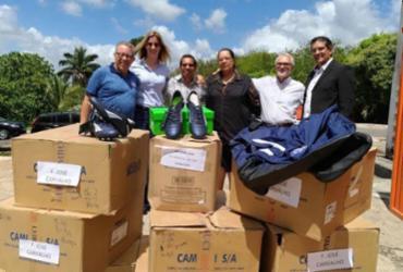 Bahia faz doação para Fundação José Carvalho