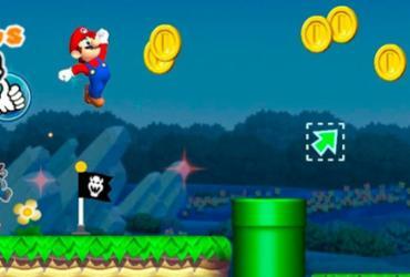 Super Mario estreia no mundo dos jogos para smartphones