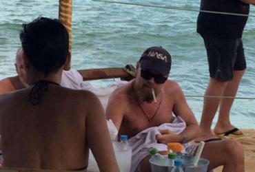 Leonardo DiCaprio na Bahia seria um sósia do ator
