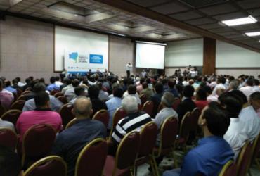 Evento reúne prefeitos da base aliada de ACM Neto na manhã desta segunda