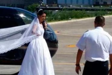 Helicóptero cai e mata noiva a caminho de casamento em São Paulo