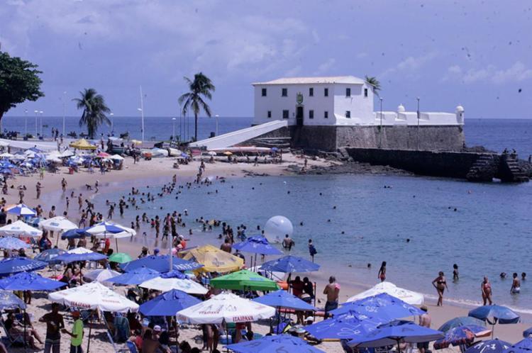 14 praias estão improprias para banho em Salvador e Região Metropolitana - Foto: Reprodução | Edilson Lima | Ag. A TARDE