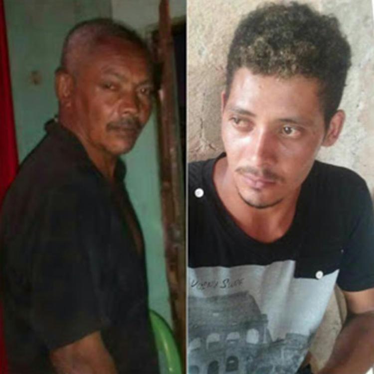 Valdemar Horácio da Silva e Altemar Freitas da Silva foram mortos a tiros - Foto: Reprodução | Site Augusto Urgente
