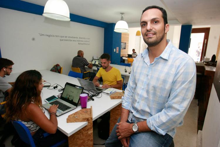 Paolilo, da Rede +, planeja replicar o negócio para outras cidades - Foto: Joá Souza   Ag. A TARDE