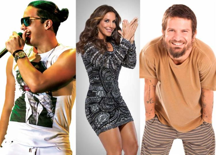 Wesley, Ivete e Saulo são atrações confirmadas para a grande festa - Foto: Fotos: Divulgação