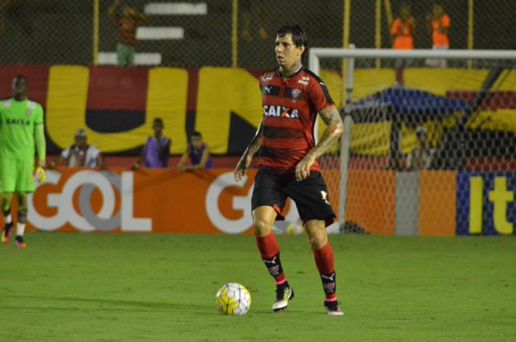 O zagueiro jogou 26 partidas pelo Vitória no Brasileirão - Foto: Francisco Galvão | EC Vitória