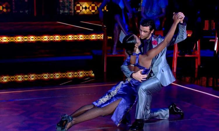 Felipe Simas venceu o quadro com a bailarina Carol Agnelo - Foto: Divulgação