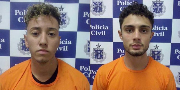 O DHPP vai solicitar à Justiça às prisões preventivas de Israel e Gabriel (E) - Foto: Ascom | Polícia Civil