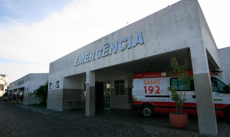 Cabo Silva estava no posto policial do hospital quando foi atacado - Foto: Lúcio Távora | Ag. A TARDE