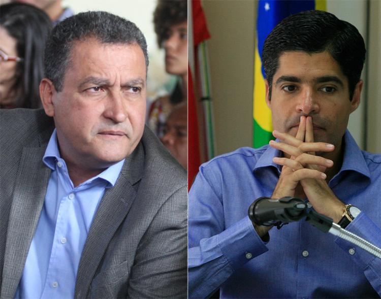 Rui destaca aberrações; Neto é contra saída de Temer - Foto: Raul Spinassé e Luciano da Matta l Ag. A TARDE