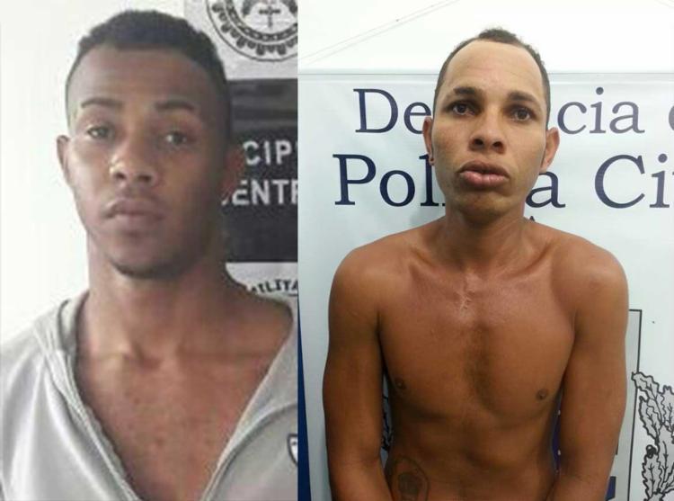 Ailson e Leone estão custodiados à disposição da Justiça - Foto: Polícia Civil | Divulgação
