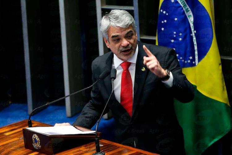 Humberto Costa (PT-PE) é líder do partido no Senado - Foto: Marcelo Camargo   Agência Brasil