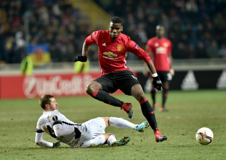 Paul Pogba, irmão mais novo, é uma das estrelas do Manchester United - Foto: Sergei Supinsky | AFP