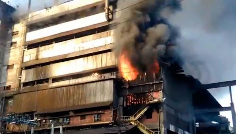 Incêndio na Vale começou por volta das 4h30 - Foto: Reprodução