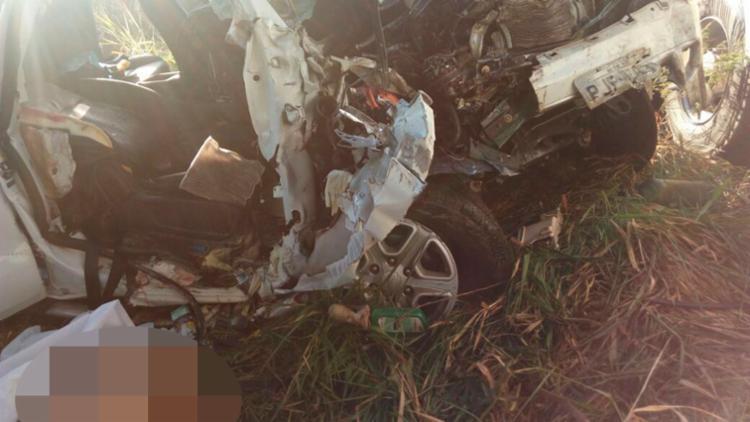 O motorista do caminhão e as duas outras vítimas serão ouvidos pela Polícia Civil - Foto: Celiany Cavalcante | Cidadão Repórter | Via WhatsApp