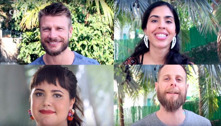Rodrigo Hilbert, Bela Gil, André Mifano e Raiza Costa comandarão o programa - Foto: Reprodução | YouTube