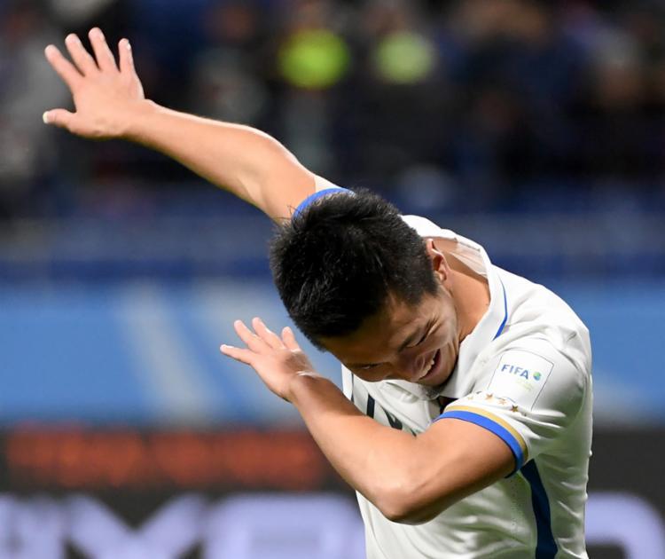 Foi a primeira vez que um time asiático chegou à final do Mundial - Foto: Toshifumi Kitamura | AFP