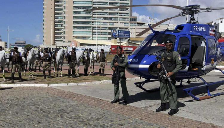 Ao todo 26 cidade do estado receberão o reforço policial - Foto: Alberto Coutinho | GovBa