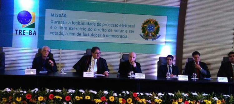 Prefeito ACM Neto foi o 1º a ser diplomado - Foto: Luan Santos | Ag, A TARDE