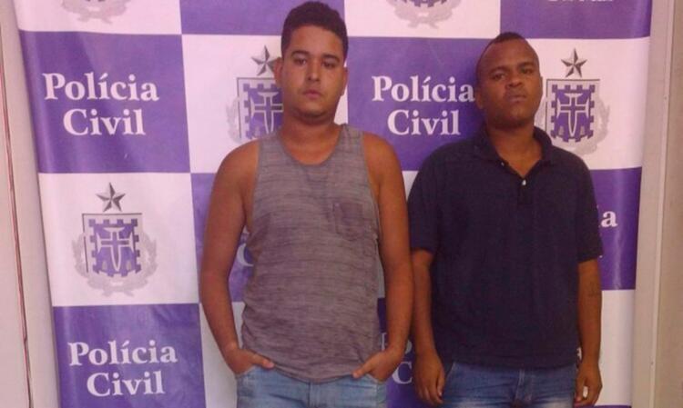 Dupla foi presa nas proximidades da Estação da Lapa - Foto: Divulgação   Polícia Civil