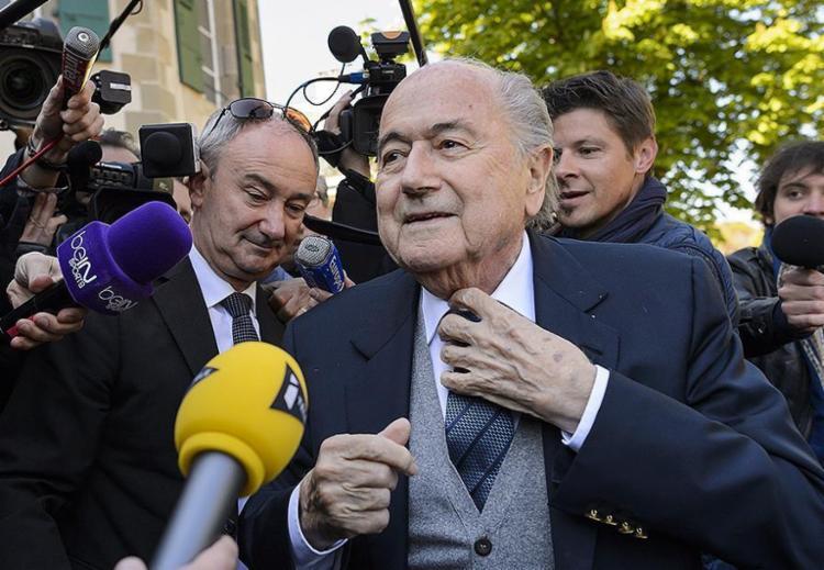 Ex-presidente da Fifa está afastado do futebol desde outubro do ano passado - Foto: Fabrice Coffrini l AFP