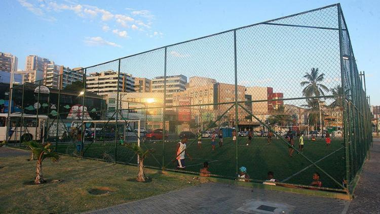 """Quadra no Rio Vermelho: lugares públicos tornam cidade mais """"humana"""" - Foto: Mila Cordeiro l Ag. A TARDE"""