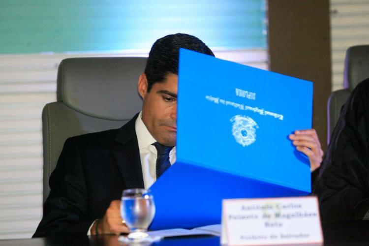 Neto e vereadores foram diplomados nesta quinta, 15, em solenidade pela Justiça eleitoral - Foto: Lúcio Távora | Ag. A TARDE