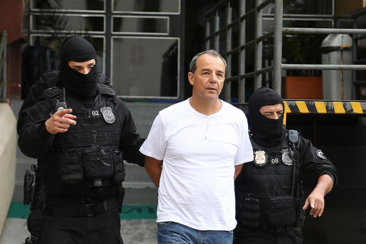 Ex-governador do Rio foi indiciado por corrupção passiva, lavagem de dinheiro e associação criminosa - Foto: Geraldo Bubniak l Agência O Globo