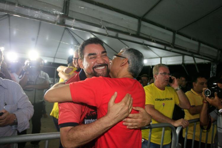 A chapa 'Vitória do Torcedor' venceu a eleição - Foto: Lúcio Távora   Ag. A Tarde