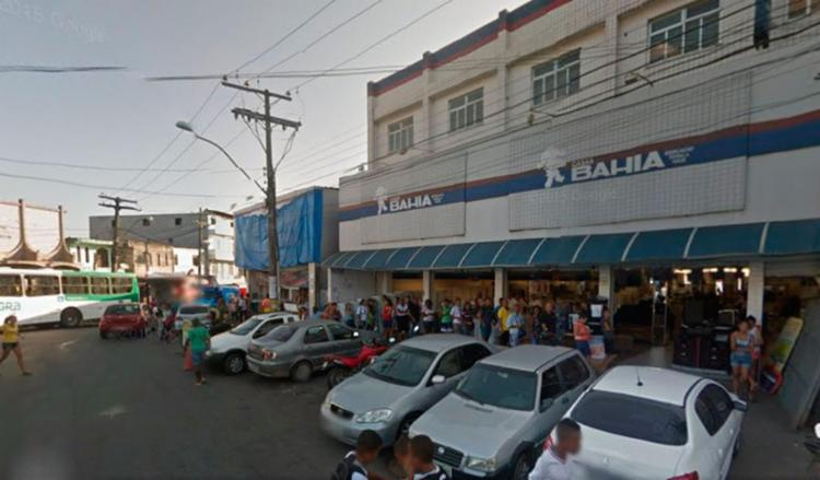 O assalto ocorreu por volta das 12h45, na Rua Dr. Arthur Gonzales - Foto: Google Maps   Reprodução