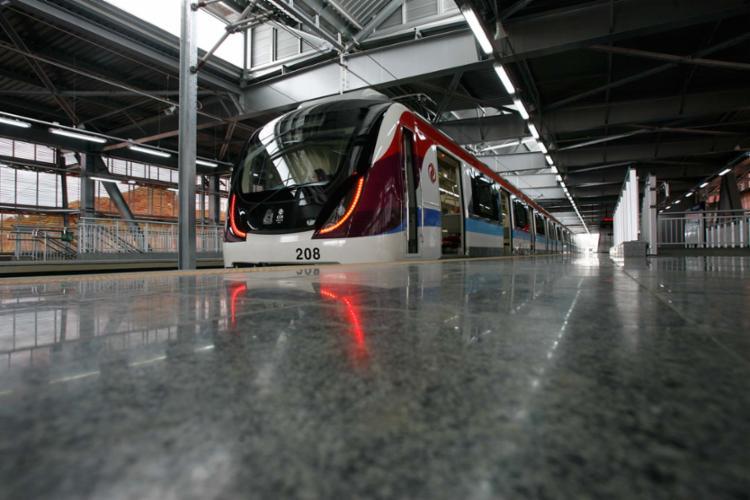 A Linha 2 do metrô de Salvador será totalmente concluída até o final do ano que vem - Foto: Xando Pereira | Ag A TARDE