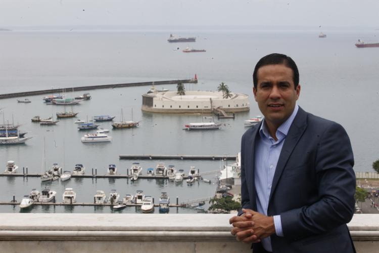 Bruno Reis foi deputado estadual por dois mandatos antes de se tornar vice-prefeito - Foto: Lúcio Távora | Ag. A TARDE