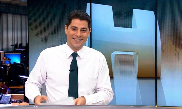 Evaristo Costa postou a imagem nas redes sociais - Foto: Divulgação