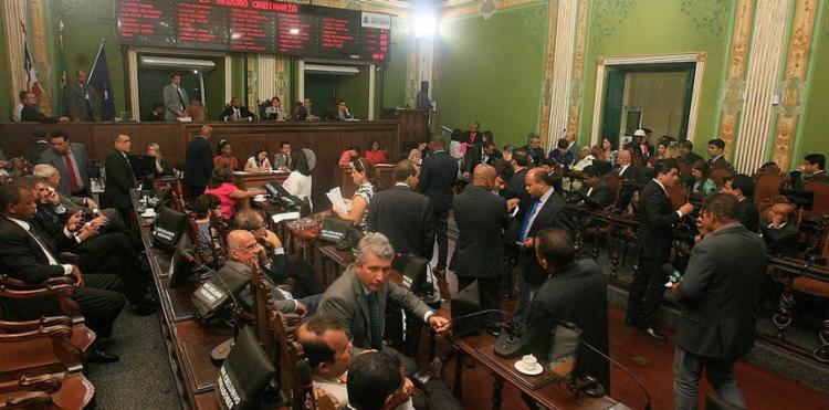 Três candidatos disputam comanda da Câmara - Foto: Mila Cordeiro l Ag. A TARDE l 13.12.2016
