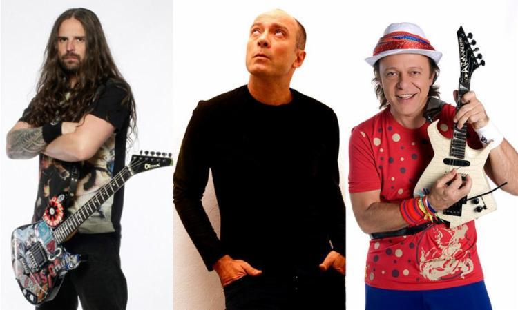Andreas Kisser, Edgard Scandurra e Armandinho são algumas das atrações - Foto: Divulgação