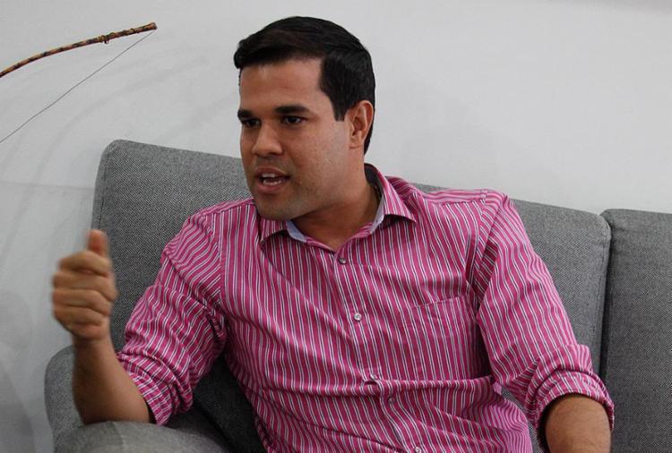 Felipe coloca-se como uma opção para liderança do seu partido, o PMDB - Foto: Lúcio Tavora l Ag. A TARDE