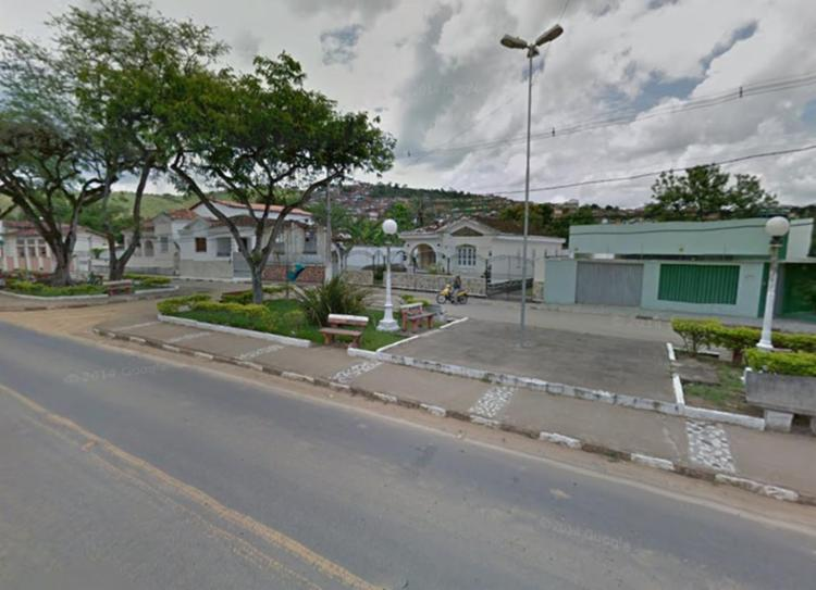 Cidade de Mutuípe já sentiu outros tremores em 2010 - Foto: Reprodução | Google Maps